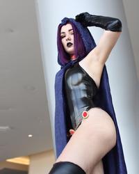 OMGcosplay as Raven (Teen Titans)