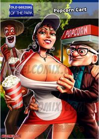 [Pernalonga] Old geezers in the park 2- popcorn cart