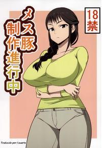 (COMIC1☆9) [Mattari House (Aitsu)] Mesu Buta Seisaku Shinkouchuu (SHIROBAKO) [Spanish] [Lanerte]