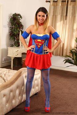 Danni B as Supergirl