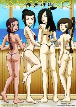 Free Hentai Manga Gallery: Avatar: Bending Break [Complete Version]