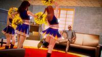 DOAX - Cheerleaders attack