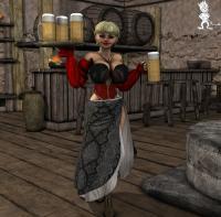 [Chup@Cabra] Halfling Bar Maid