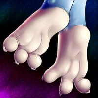 My Best Furry Feet / Paws  - females and males