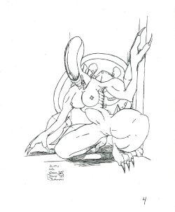 Free Hentai Western Gallery: My Xenomorph ( alien ) collection