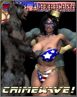 Free Hentai Misc Gallery: (3D) Ms. Americana Crimewave (Up to Date)