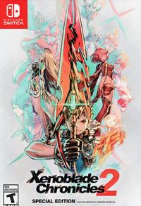 Xenoblade 2 collector's edition artbook