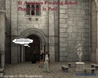 St Anastasia Finishing School, Chap 1: Blu In Peril