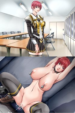Free Hentai Image Set Gallery: Breast Expansion