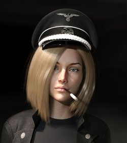 HESSA the nazi chick