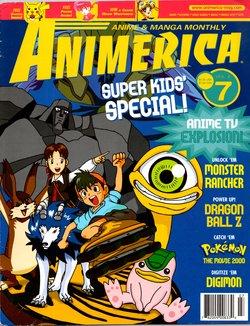 Animerica Volume 8 Number 7 August 2000
