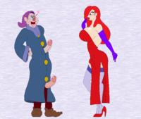 Jessica rabbit and the 2 dwarfs (ongoing)