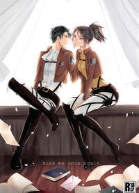 (C86) [Kiseki (Kisaki Noa)] kiss me once again (Shingeki no Kyojin)