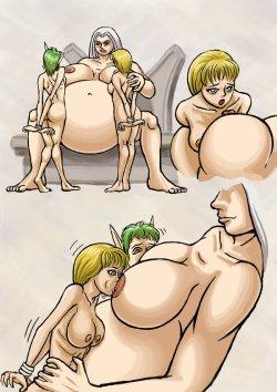 Free Hentai Western Gallery: [Donutwish] Breast Vore