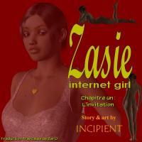 [Incipient] Zasie - Internet girl (Ch 01-04) [French][Zer0]