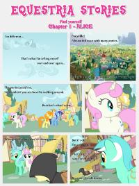 [EStories] Find yourself (My Little Pony- Friendship is Magic) [English] [Ongoing]