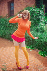 Kayla Erin as Velma Dinkley