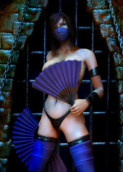 Free Hentai Artist CG Set Gallery: Mortal Kombat - Kitana & Mileena (bloody)