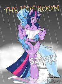 [Dekomaru] The Hot Room: Soaked (My Little Pony: Friendship Is Magic) [Russian] [Simon]