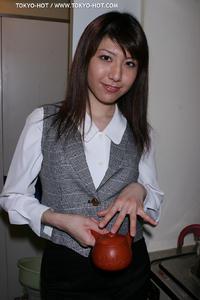 [TOKYO HOT] Office Worker Girl Cosplay Fuck - Kanon Kaduki