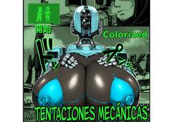 [Double Deck Seisakujo (Double Deck)]  MECHANICAL TEMPTS    Clockwork Temptations (Fallout 4) [Spanish] [Colorized] [Decensored]
