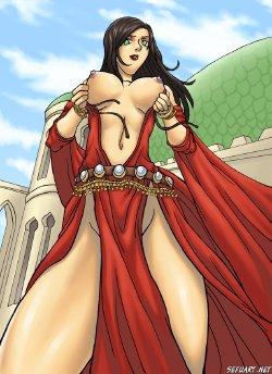 Free Hentai Western Gallery: Prince of Persia (Farah, Elika, Kaileena) !