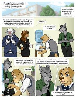 [Jackaloo] The Internship - Volumen 1 (Furry) (Spanish) [On Going] [Reyarturo4]