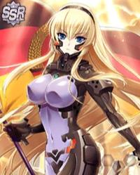 [DMM] Muv-Luv - Strike Frontier - Mobage Cards