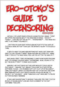 Ero-Otoko's Guide to Decensoring (Updated)
