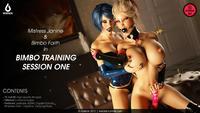 Miki3DX - Bimbo Training Session One