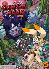 Free Hentai Western Gallery [Omega Zuel] Crimson Moon: Part 1 (Sonic The Hedgehog)
