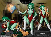 Neocorona Femdom Alien Captions