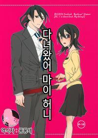 (C75) [B8 (Choki)] Tadaima, My Honey  | 다녀왔어 마이 허니 (Bleach) [Korean] [팀 마스터]