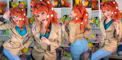 Ri Care Cosplay - Sonia (Pokemon Sword & Shield)