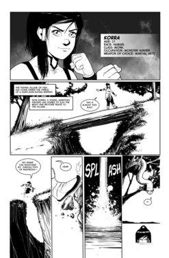 [TripleXmile] Korra Vore Comic (The Legend of Korra)