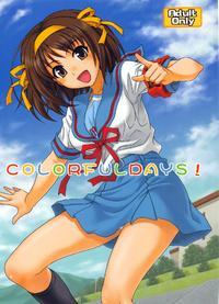 (COMIC1☆3) [Junpuumanpandou (Hida Tatsuo)] COLORFULDAYS! (Suzumiya Haruhi no Yuuutsu)