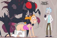[Kotaotake] Rick and Morty: Beth and Mr.Meeseeks (Rick and Morty) [Chinese] [變態浣熊漢化組]
