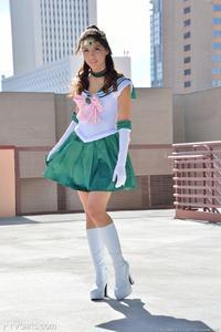 Melody Wylde as Sailor Jupiter