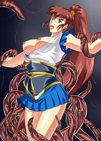 [kamo] bondage & ryona of fighting girls (Various)