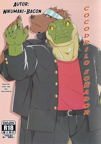 (Kemoket 6) [Nikumaki-Bacon (Nikujuuhachi)] Yumemiru Crocodile | Cocodrilo soñador [Spanish] [Tori-traducciones II] [Decensored]