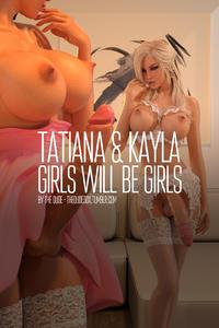 [TheDude3DX] Tatiana & Kayla: Pt 1 & 2