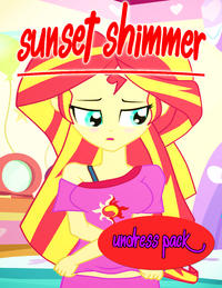 Free Hentai Western Gallery [Dieart77] Sunset Shimmer Undress Pack (English) (My little pony equestria girls)