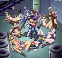 Lesbian orgy kelly hansen