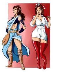 [Shishikasama] Nurse Fang (Final Fantasy XIII) (Sketches)